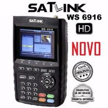 Novo Localizador De Satellite Profissional Satlink 6916hd