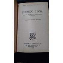 Código Civil 1973, Leyes Y Códigos De México