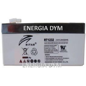 Bateria Marca Ritar Modelo Rt1232, 12v/3.2ah, 1 Año Garantia