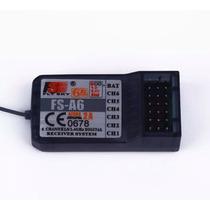 Radio Receptor Digital 6 Canales Fs-a6 Avion Fly Sky 2.4ghz