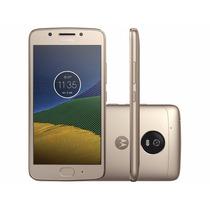 Celular Moto G5 Android 7.0 Tela 5 32gb Ouro Novo Lançamento