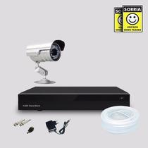 Kit Segurança Dvr Stand Alone 4 Canais E 1 Câmera Infra Sony