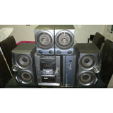 Modular Sony Mod Mcd-dx80 Completo Con 2 Bafles Y 2 Speakers