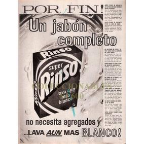 Publicidad Antigua Rinso Jabon En Polvo