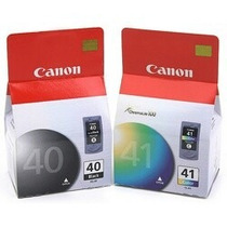 Kit 2 Cartucho Pg40 Cl41 Para Canon Ip1200 Ip1800 Mp160 P450