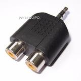 Adaptador Plug P2 (3.5mm) Macho X 2 Rca Femea - Frete R$7,50