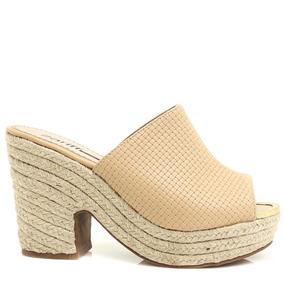 Tamanco Zariff Shoes Salto Plataforma Em Corda | Zariff
