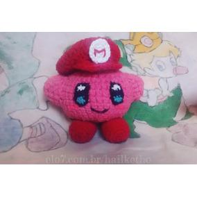 Kirby Boneco - Amigurumi