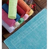 Toalha De Piso 43x66cm P/ Banheiro Cores Olinda