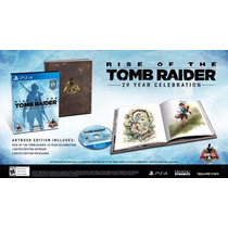 Rise Of The Tomb Raider 20 Year Celebration - Ps4 (físico)