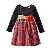 Vestido De Fiesta Para Niñas De Fiesta Ideal Navidad Talla 3