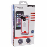 Funda Optrix Uso Rudo Lifeproof + 2 Lente Camara Iphone 6 6s