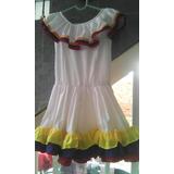 Vestido Joropo Venezuela Niña