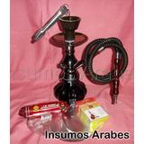 Narguile+ Regalos (tabaco+carbón+pinza) $279 Insumos Arabes