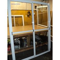 Ventana Balcon 150x200 Vidrio Entero