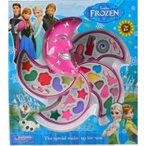 Frozen Pintura Maquillaje Cuatro Pisos Colores Labiales