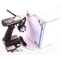 Rádio Controle Flysky Fs Gt3c 2.4ghz 3ch Digital Gt3 Com Bat