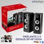 Parlantes 2.0 Genius Sp-hf1800a (50 Watts Reales)
