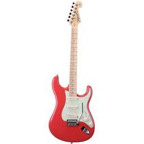 Guitarra Strato Tagima T635 Linha Brasil Fiesta Red Vermelha