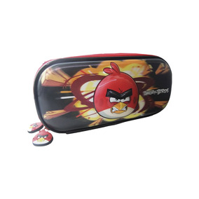 Estojo Angry Birds 6d C/ 2 Divisórias - Ref Abe701103