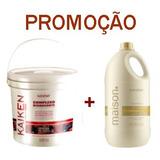 Máscara Kaiken 2kg + Shampoo Maison 5l Nutra Hair