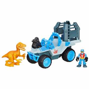 Jurassic World Playskool Caminhão Com Jaula B0534 Hasbro