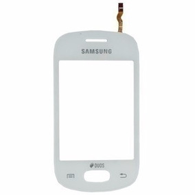 Tela Touch Touch Samsung Gt S5282 5282 Galaxy Star Branco