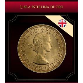 Moneda Libra Esterlina Oro