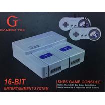 Super Nintendo Console Novo 2 Controles