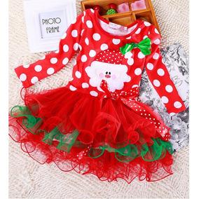 Vestido Niña Navidad Santa Claus Navideño