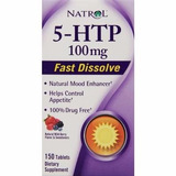 Suplemento 5-htp 100mg 150 Caps Natrol Importado(sublingual)