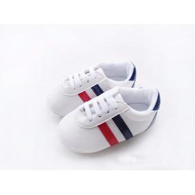 Tênis Sapato Sapatinho De Bebê Branco 2 A 6 Meses Importado