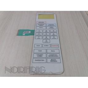 Frente Membrana Panel Microondas Bgh 16650 Original