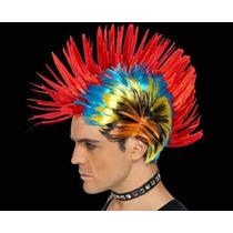 Peluca Multicolor Punk
