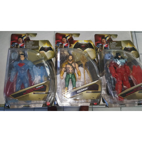 Aquaman Figura Mattel Batman & Superman De 6 Pulgadas