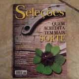 Revista Seleções Readers Digest 2/2016 Acredita Na Sorte