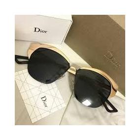 Oculos De Sol Dior Mirrored Preto Luxo Acessível Poderosa Fg