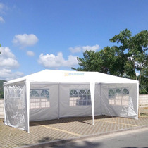 Toldo Tipo Carpa Pared 6x3 Mts Acero Lona Impermeable