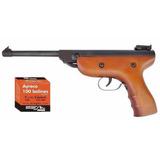 Pistola De Aire Comprimido 4,5 Ayreco Broksol + 500 Balines