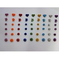 150 Adesivos Mini Em Eva Com Glitter Pet Shop Banho E Tosa