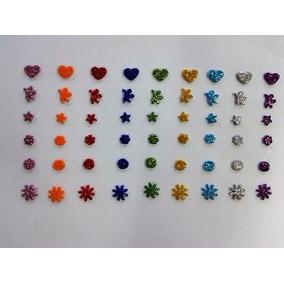 300 Adesivos Mini Em Eva Com Glitter Pet Shop Banho E Tosa