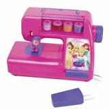 Máquina Costura Infantil Princesas Disney Dia Das Crianças