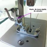 Adaptador Haste Troca Rápida Baixa Sapata Calcador Singer