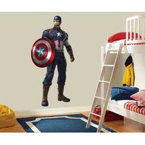 Vinil Decorativo Capitán America , Avengers .