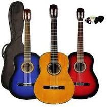 Guitarra Criolla Clasica Adulto Nylon Funda Pua Fender Cd