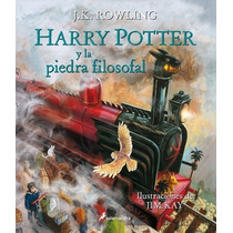 Harry Potter Y La Piedra Filosofal Edición Ilustrada