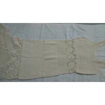 Vestido Bordados Al Crochet