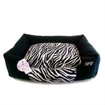 Cama Bichinho Zebra Para Caes Gatos Tamanho Gg