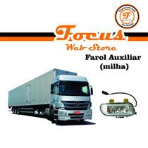 Farol Auxiliar (milha) Caminhão Mercedes Axor 2005 Em Diante