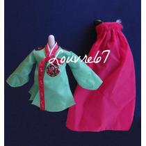 Vestido Barbie Princesa De La Corte Coreana Munecas Mundo